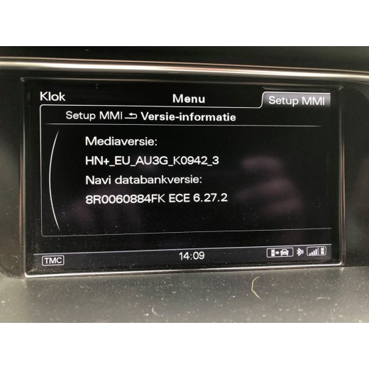 2019 Sat Nav Disc Update for Audi 3G+, 3GP  HDD Navigation systems