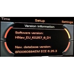 2019 Sat Nav SD Update Audi MMI 3G High HDD Navigation System