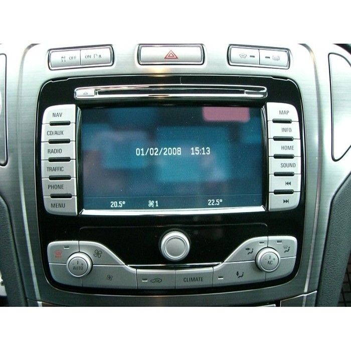 ford nx navigation map dvd  sat nav disc update