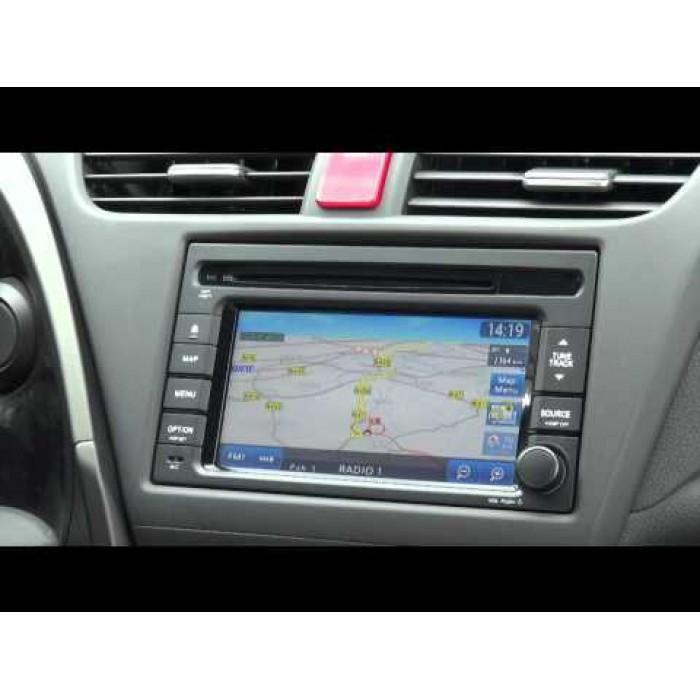 Honda SD Card Navigation Europe 2018
