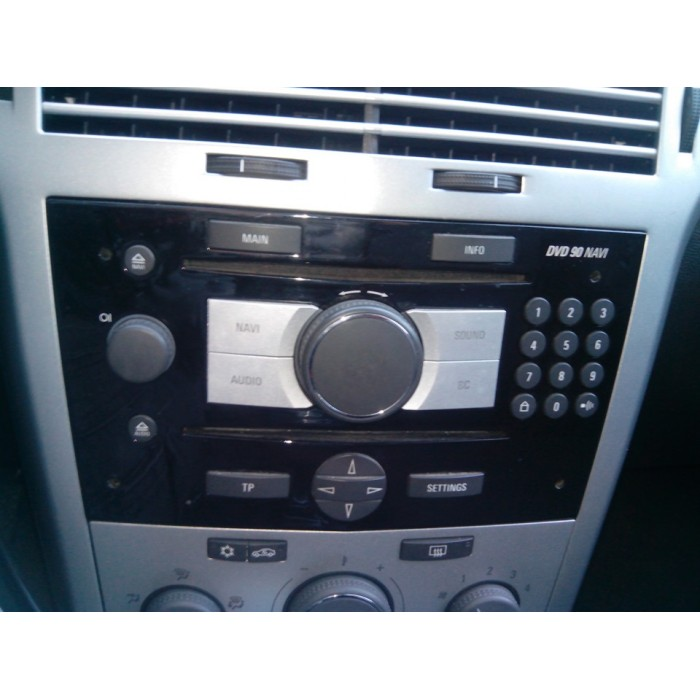 2018 Opel Vauxhall Navigation Map sat nav disc EHU4/DVD90 ...