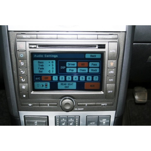 2012 Ford Denso Navigation Western Europe sat nav map update disc