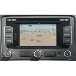 2019 Volkswagen RNS 310 SD Card Navigation V11 TravelPilot FX SAT NAV MAP UPDATE
