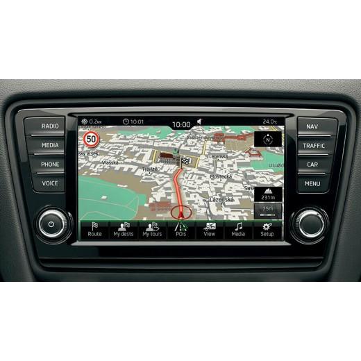 2019-2020 SKODA OCTAVIA YETI GEN1 MIB1 SD Card Sat Nav Navigation Map Europe 5E0051236G
