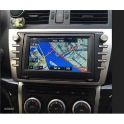 2018 Mazda navigation KENWOOD DV3200 sat nav map update DVD disc