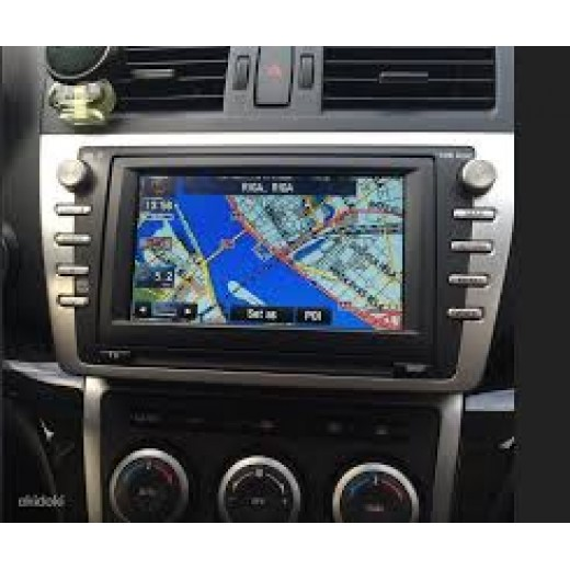 2018 mazda navigation kenwood dv3200 sat nav map update dvd disc. Black Bedroom Furniture Sets. Home Design Ideas