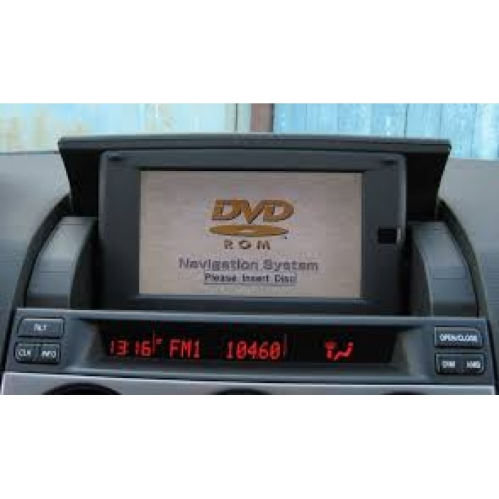 mazda sdal navigation sat nav map update disc. Black Bedroom Furniture Sets. Home Design Ideas