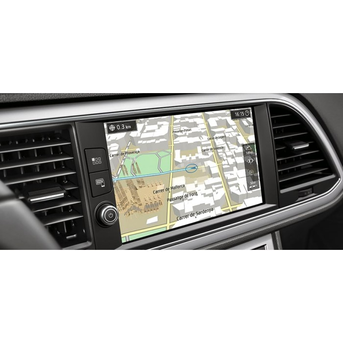2019-2020 Seat Navigation System PLUS Europa SD card map