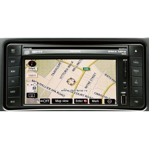 TOYOTA TNS 510 NAVIGATION SD CARD SAT NAV MAP UPDATE ...