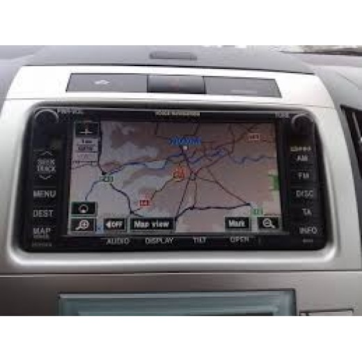 2018 Toyota navigation DVD disc E1G VER 2.0 generation 3-5 disc TNS600/700 sat nav map update