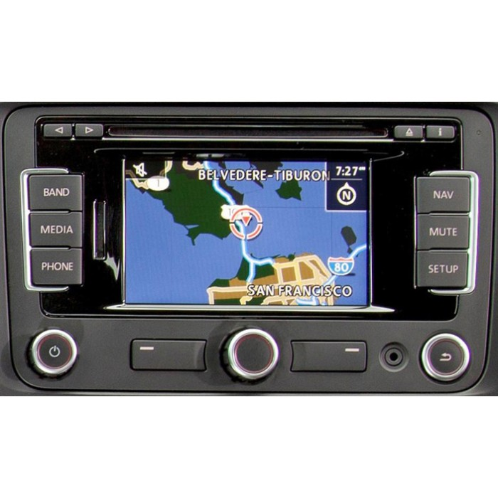 2013 Skoda Amundsen Navigation Fx V4 Sat Nav Map Disc Cd